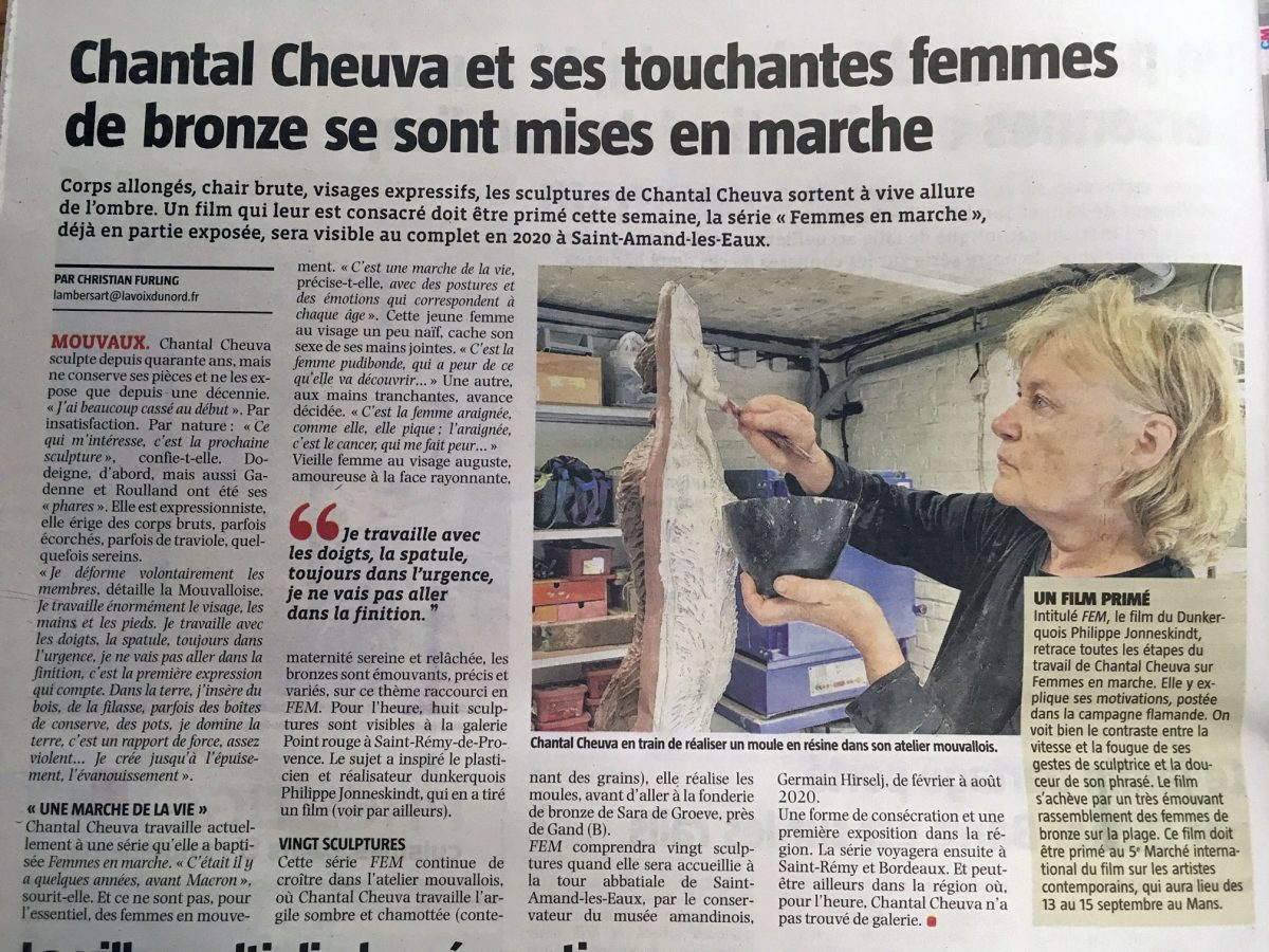 Chantal Cheuva - Femmes de Bronze